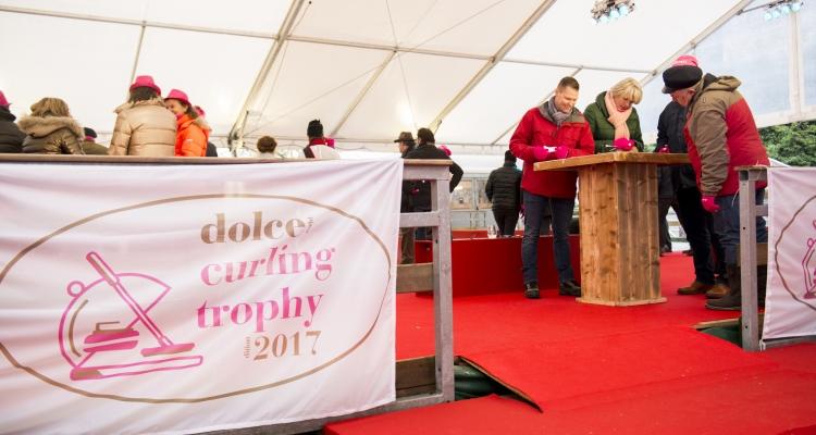 Dolce 's curling trophy pour  Horeca 2017