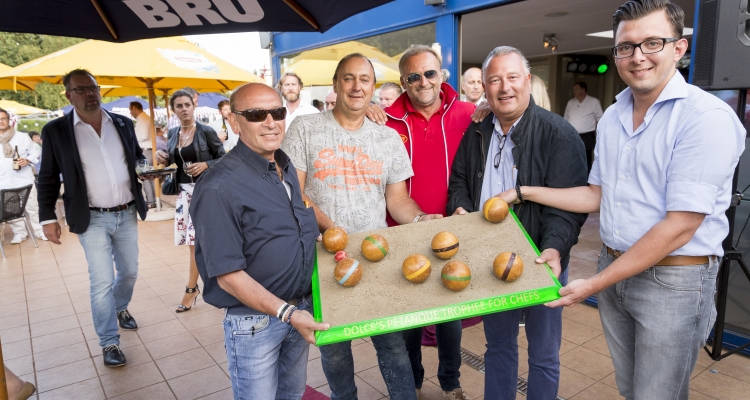 DOLCE'S PETANQUE TROPHEE FOR CHEFS  empowered by the Mastercooks of Belgium
