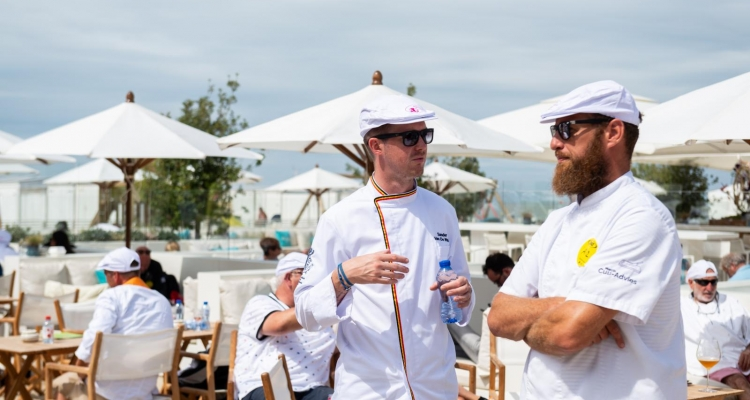 Dolce 's petanque trophy voor  Chefs 2019