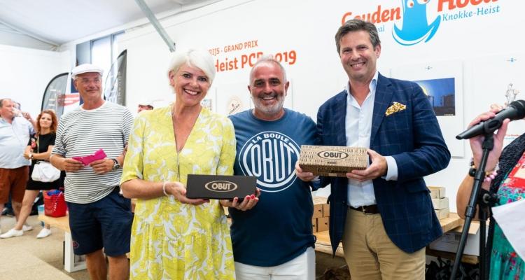 Dolce 's petanque trophy pour  Chefs 2019 Remise des prix au Cartoonfestival